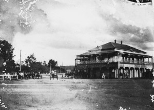 The Park Hotel, Charters Towers of which James Clancy was licencee. http://trove.nla.gov.au/version/194904367