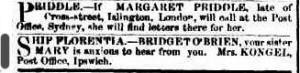 The Sydney Morning Herald, Saturday 12 February 1859, page 1