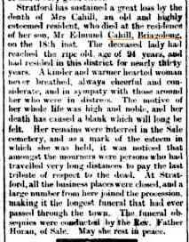 STRATFORD. (1885, May 29). Gippsland Times (Vic. : 1861 - 1954), p. 3 Edition: Morning.. Retrieved March 11, 2015, from http://nla.gov.au/nla.news-article61922989