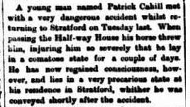 The Gippsland Times. (1868, December 5). Gippsland Times (Vic. : 1861 - 1954), p. 2 Edition: Morning.. Retrieved March 12, 2015, from http://nla.gov.au/nla.news-article61342187